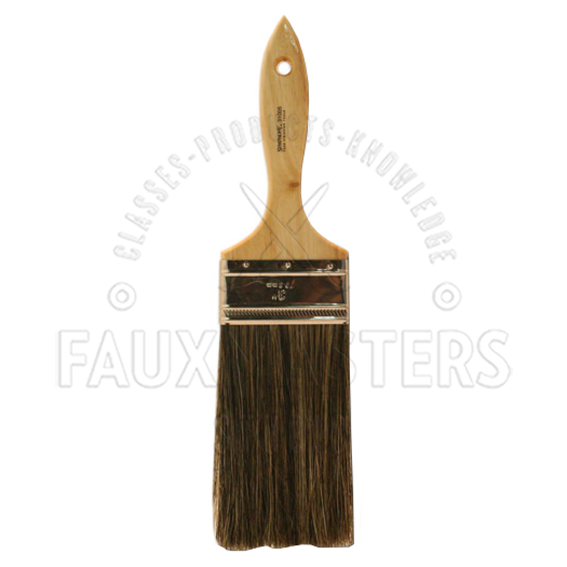 Flogger brush faux painting training education for Faux painting brushes