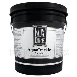 AquaCrackle® Metallic