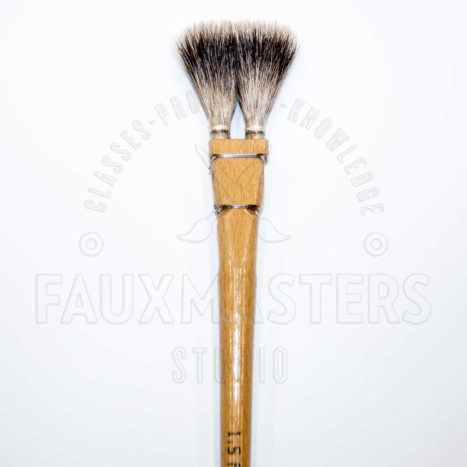 Badger flat 2 header brush faux painting training for Faux painting brushes